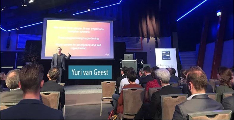 Yuri van Geest Consulting Captains Dinner